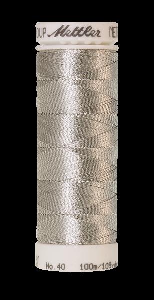 METALLIC dunkles silber (100 meter)