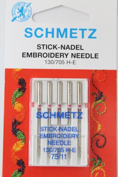 Stick-Nadeln Embroidery 130/705 H-E 75/11