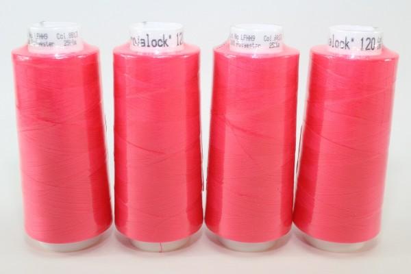 Trojalock Nr. 8813 Pink 4x 2500m