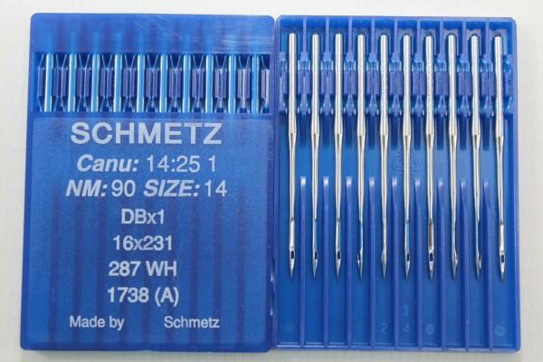 Rundkolbennadeln Stärke 90 System DBx1 / 16x231 / 287 WH / 1738 (A)