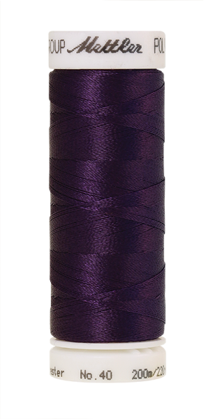 Stickgarn 200 Meter, Farbe:3536, Amann Poly Sheen