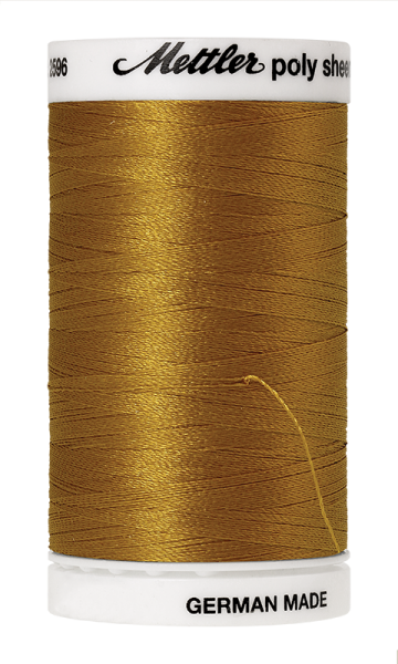 Stickgarn 800 Meter, Farbe:0542, Amann Poly Sheen