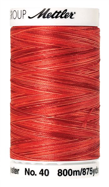 Stickgarn 800 Meter, Farbe:9924, Amann Poly Sheen Multi
