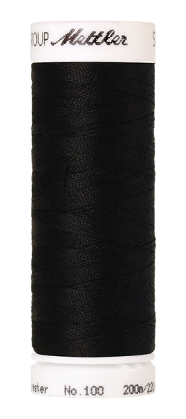 Nähgarn 200 Meter, Farbe:4000, Amann Seralon, Polyester