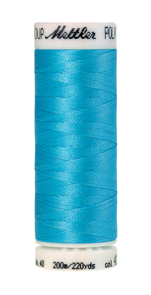 Stickgarn 200 Meter, Farbe:4122, Amann Poly Sheen