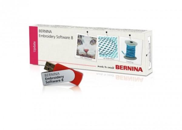 Bernina Update auf Designer plus V8 von Designer plus V5-V7
