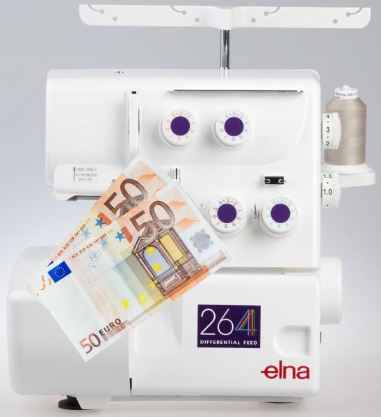 Elna 264 - Eintauschpreis