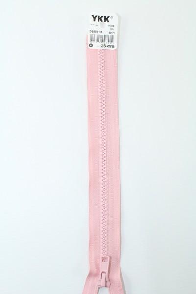 YKK - Reissverschlüsse 25 cm - 80 cm, teilbar, perlrosa