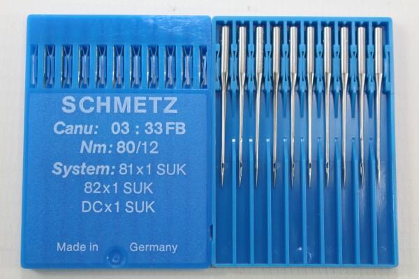 Rundkolbennadeln Stärke 80 System 81x1 SUK / 82x1 SUK / DCx1 SUK