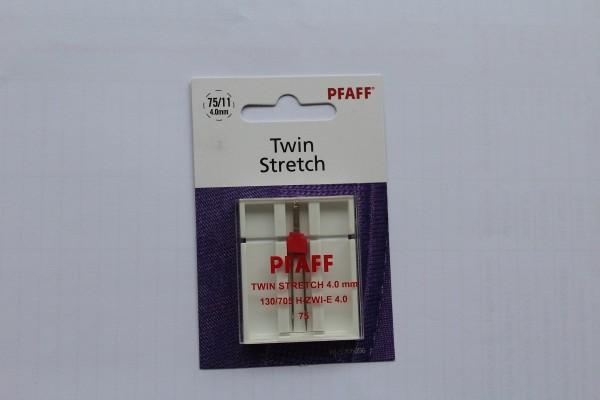 Original PFAFF Zwillingsnadel Stretch 130/705 H-Zwi-E 4.0/75