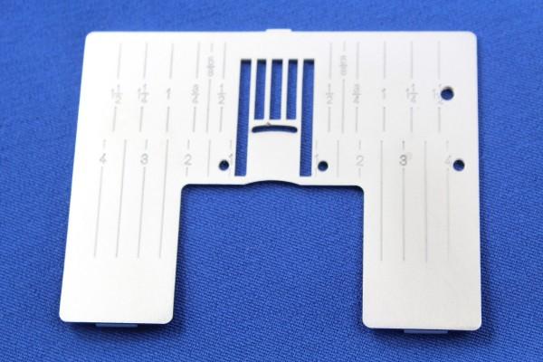 Original PFAFF Stichplatte für Quiltbandeinfasser (Klasse J)