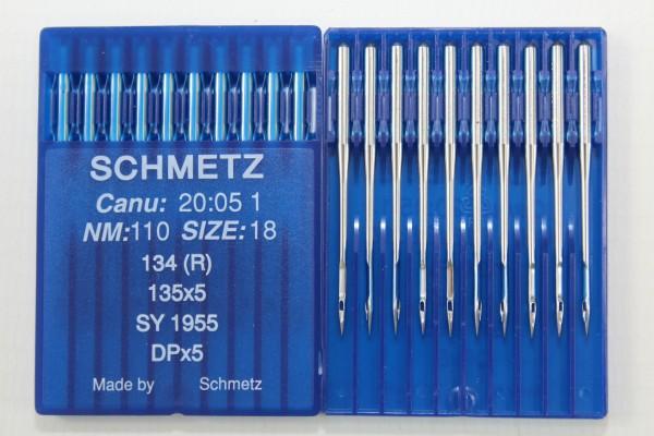 Rundkolbennadeln Stärke 110 System 134 (R) / 135x5 / SY 1955 / Dpx5