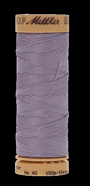 Nähgarn 150 Meter, Farbe:0575, Mettler Quilting, Baumwolle/Polyester, 2fach gewachst 10er Pack