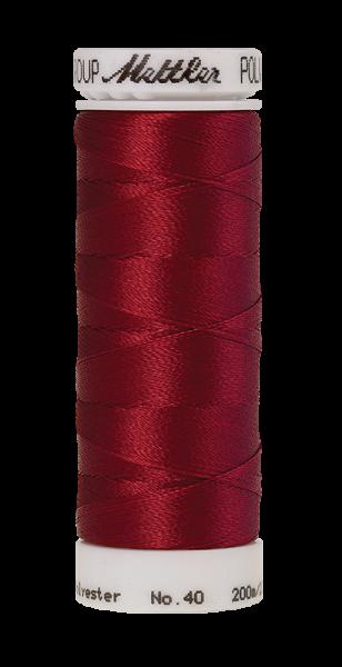 Stickgarn 200 Meter, Farbe:2101, Amann Poly Sheen