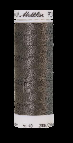 Stickgarn 200 Meter, Farbe:0111, Amann Poly Sheen