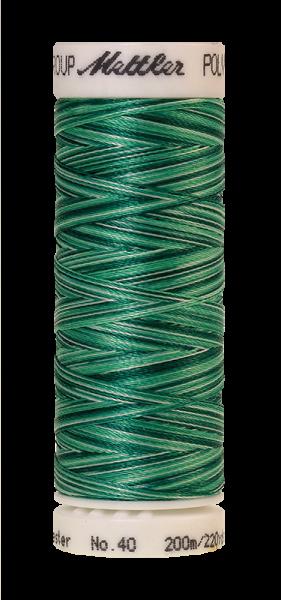 Stickgarn 200 Meter, Farbe:9931, Amann Poly Sheen Multi