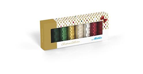 Amann Mettler POLY SHEEN®/ METALLLIC Christmas 8er Kit