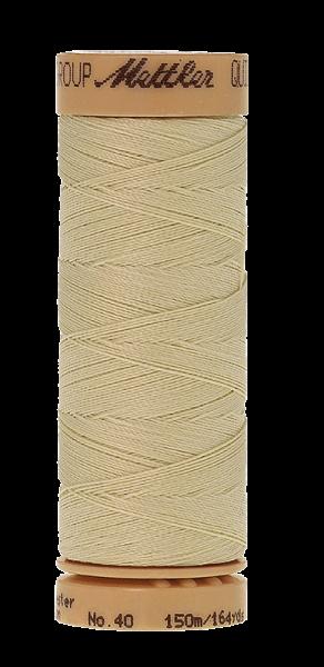 Nähgarn 150 Meter, Farbe:0997, Mettler Quilting, Baumwolle/Polyester, 2fach gewachst 10er Pack