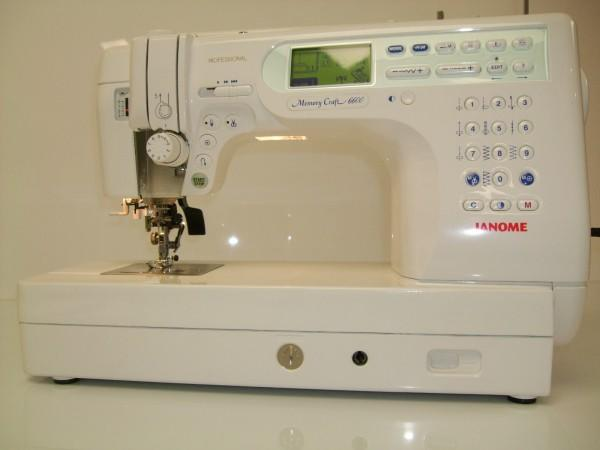 Janome Memory Craft 6600 P