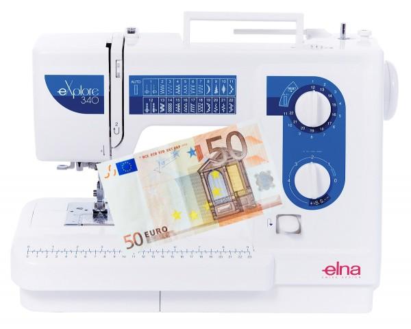 Nähmaschine Elna 340 eXplore - Eintauschpreis