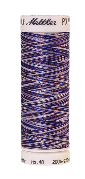 Stickgarn 200 Meter, Farbe:9921, Amann Poly Sheen Multi
