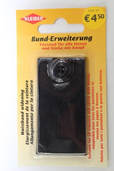Bund - Erweiterung schwarz mit Knopf
