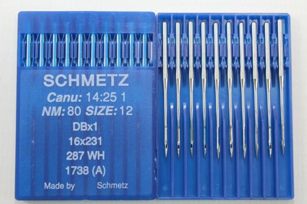 Rundkolbennadeln Stärke 80 System DBx1 / 16x231 / 287 WH / 1738 (A)