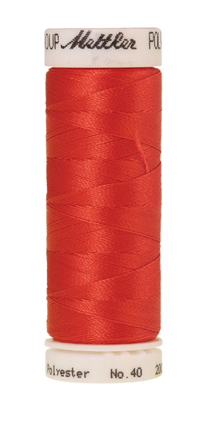 Stickgarn 200 Meter, Farbe:1600, Amann Poly Sheen