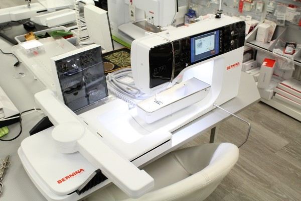 Bernina 790 PLUS inkl. Stickmodule - Ausstellungsmaschine