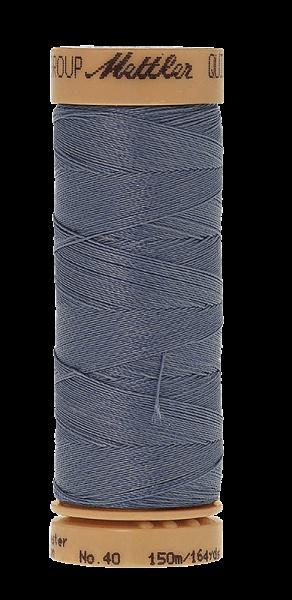 Nähgarn 150 Meter, Farbe:0672, Mettler Quilting, Baumwolle/Polyester, 2fach gewachst 10er Pack