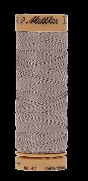 Nähgarn 150 Meter, Farbe:0813, Mettler Quilting, Baumwolle/Polyester, 2fach gewachst 10er Pack