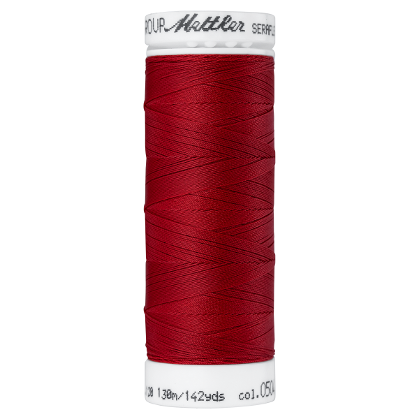 Amann Mettler Seraflex 130m Elastikgarn Nr.0504(rot)