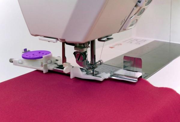 ELNA / JANOME Knopflochfuß extra groß mit Stabilisierungsplatte