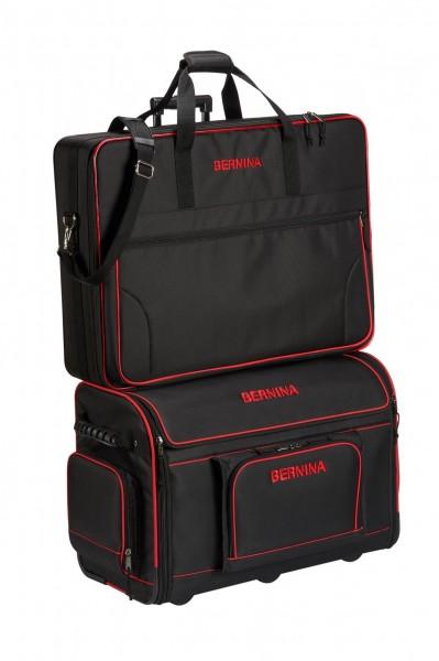 BERNINA Kombi Paket Trolley XL und Stickmodultasche XL für die 7er und 8er Serie