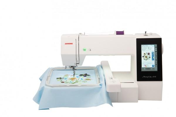 Janome Memory Craft 500 E mit Sticksoftware Embroidery Editor