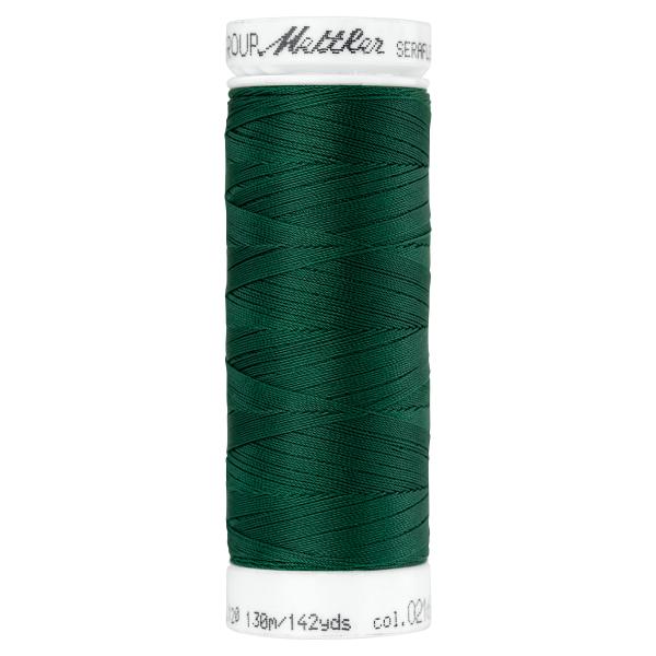 Amann Mettler Seraflex 130m Elastikgarn Nr.0216(dunkelgrün)