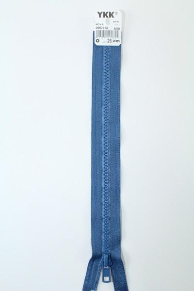 YKK - Reissverschlüsse 25 cm - 80 cm, teilbar, jeansblau