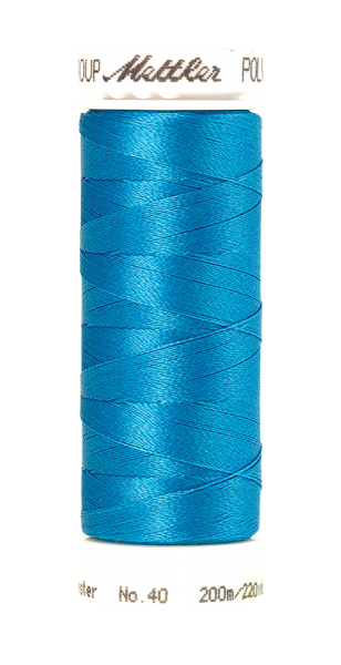 Stickgarn 200 Meter, Farbe:4101, Amann Poly Sheen